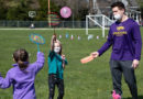 UWSP students help with physical ed for kids during the pandemic