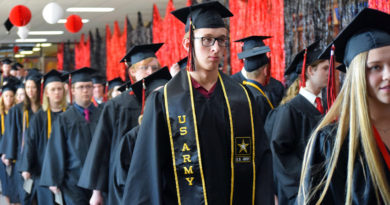 SPASH graduation ceremony returns to the Fieldhouse