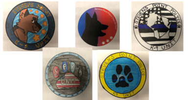 SPPD announces design finalists for new K9 logo