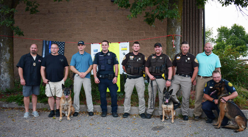 Jack Stand Racing Cruze-in raises record amount for local K9s