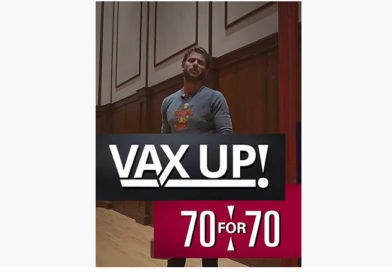 Comedian Charlie Berens joins UW vaccination campaign