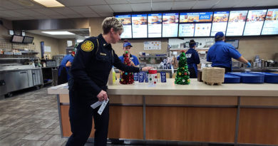 Photo of the Day: Serving the public—literally